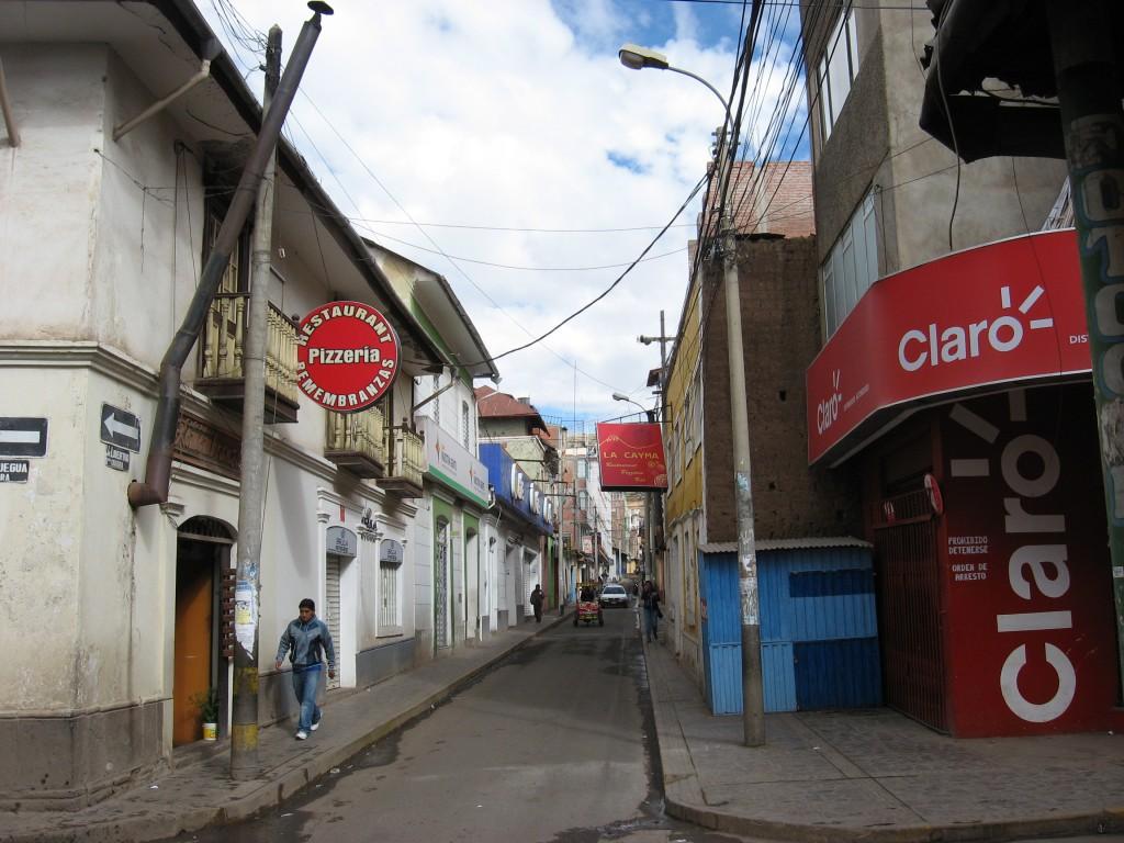 Ulice v Punu