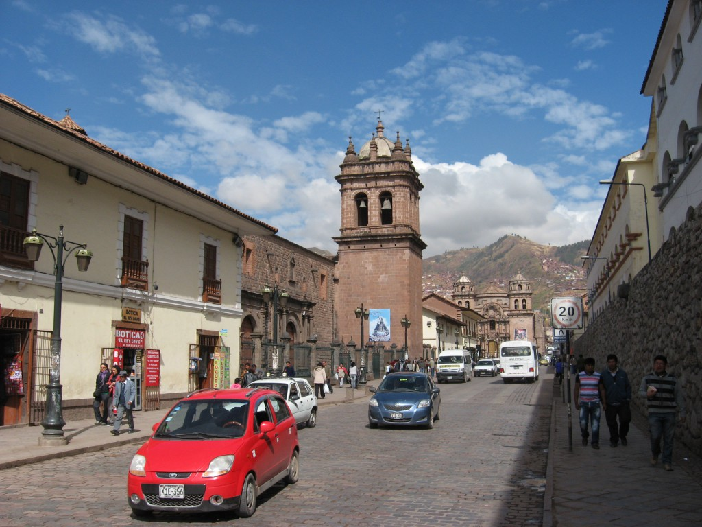 Ulice v Cuscu