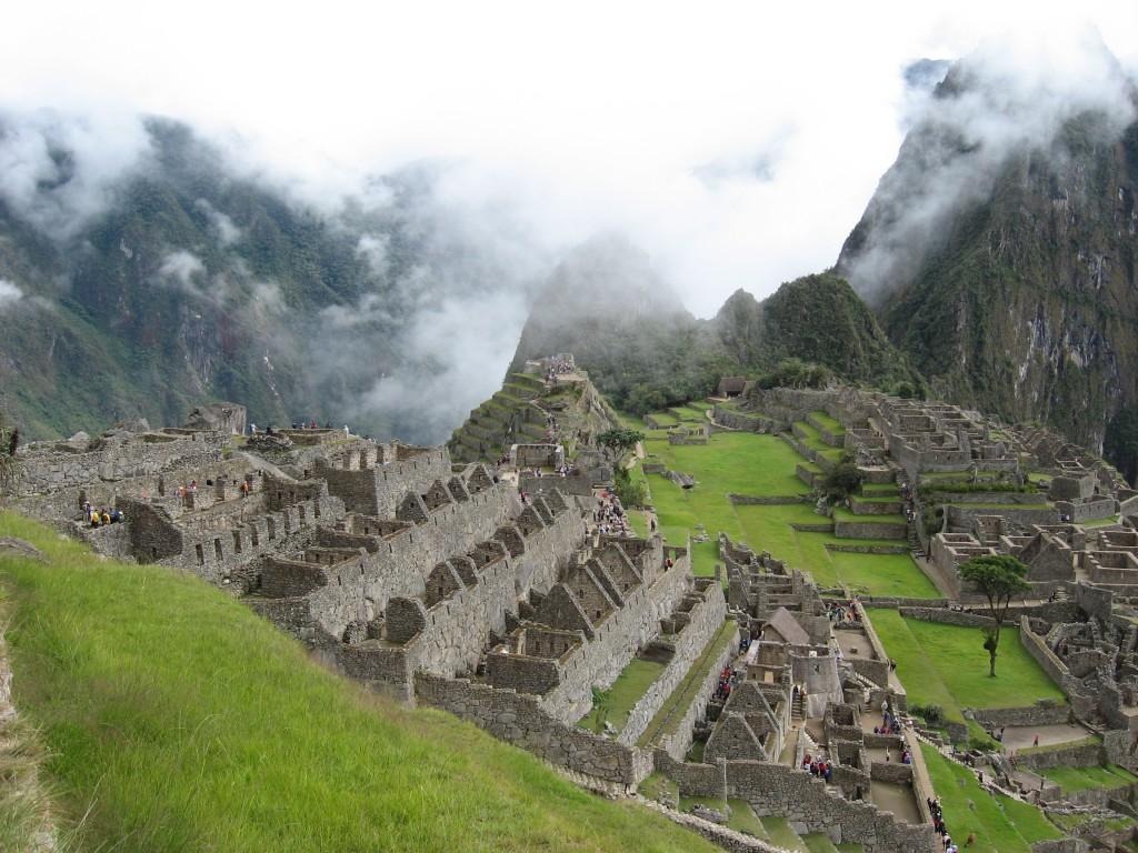 Machu Picchu - první pohled